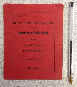 rules and regs 1908